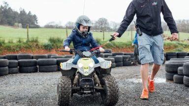 FFD   Kids Quads front view boy