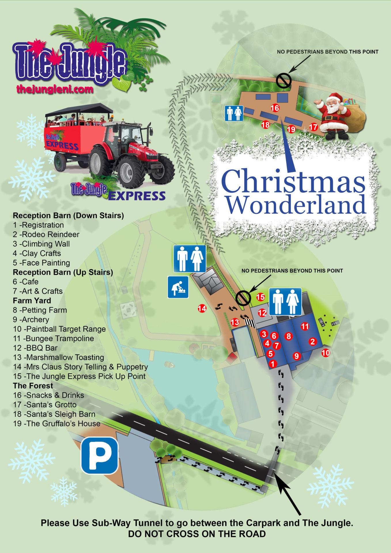 Christmas Map 2016