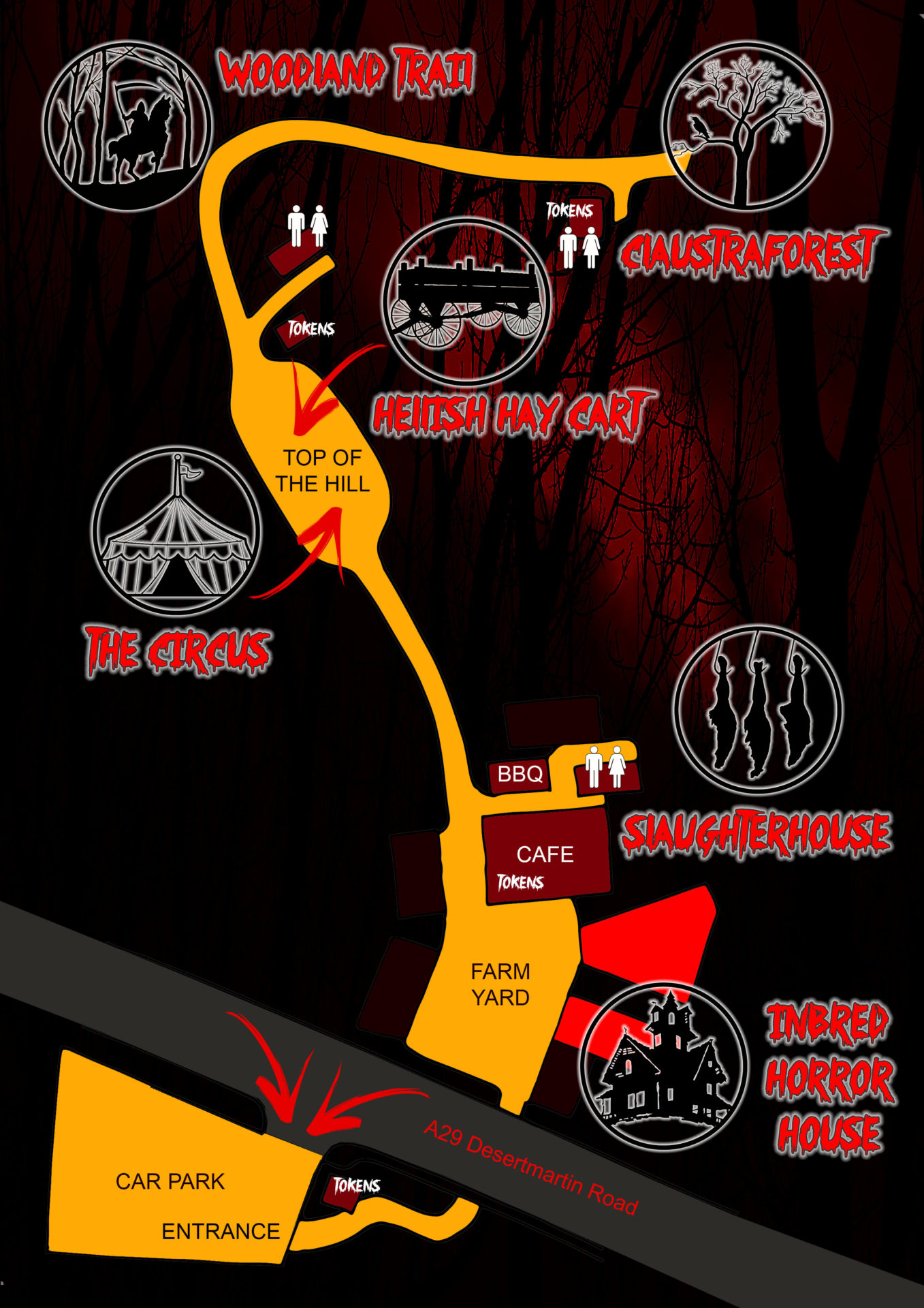 Fright Night Map 2017