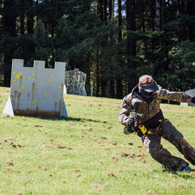 Paintball in the Open