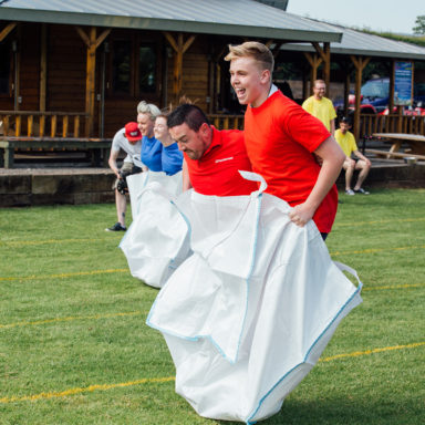Team Building Sack Race