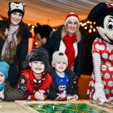 Children with Minnie