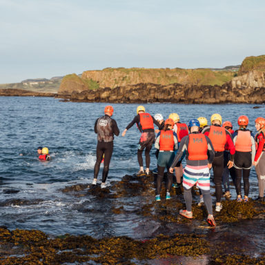 Coasteering - Dipping Toes in Water