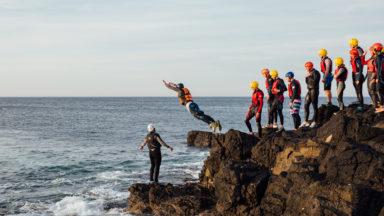Coasteering - Taking Flight