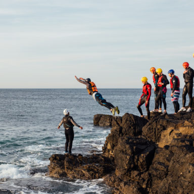 Coasteering - Taking Flight