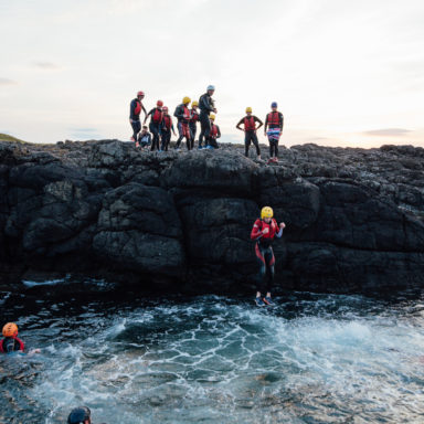 Coasteering - The Plunge
