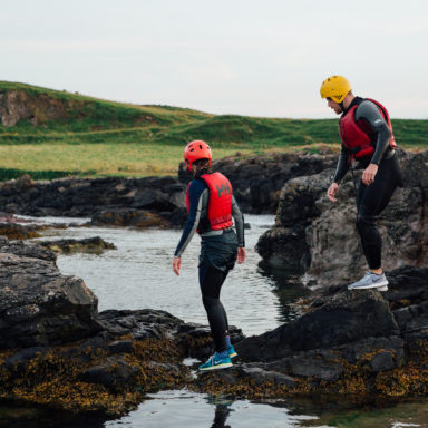 Coasteering - The Short Treak Back