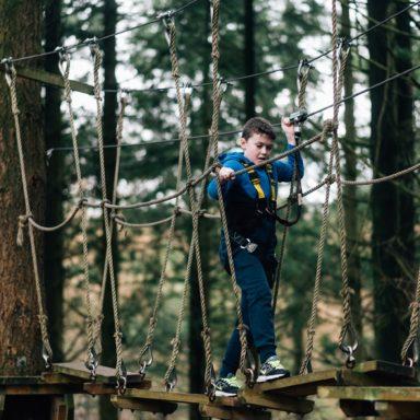 Kids TTA   rope bridge