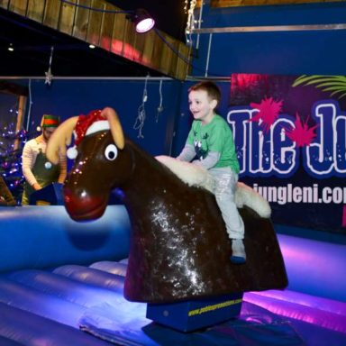 Riding the Reindeer