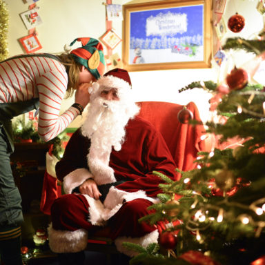 Santa with his Elf