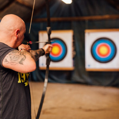 Taking Aim at the Archery Board