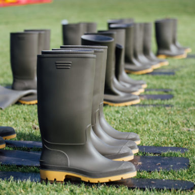 Wellingtons at the Ready