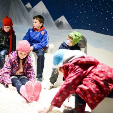 Winter Wonderland - Kids in Snow