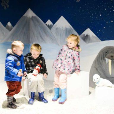 Winter Wonderland - Kids with Walrus
