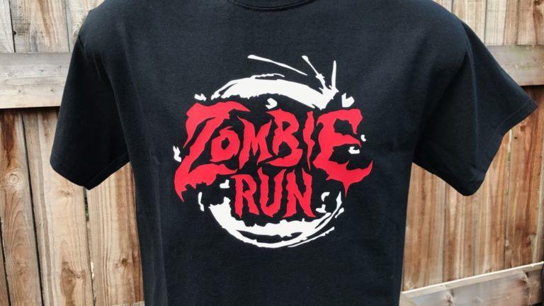 Zombie Run black tee