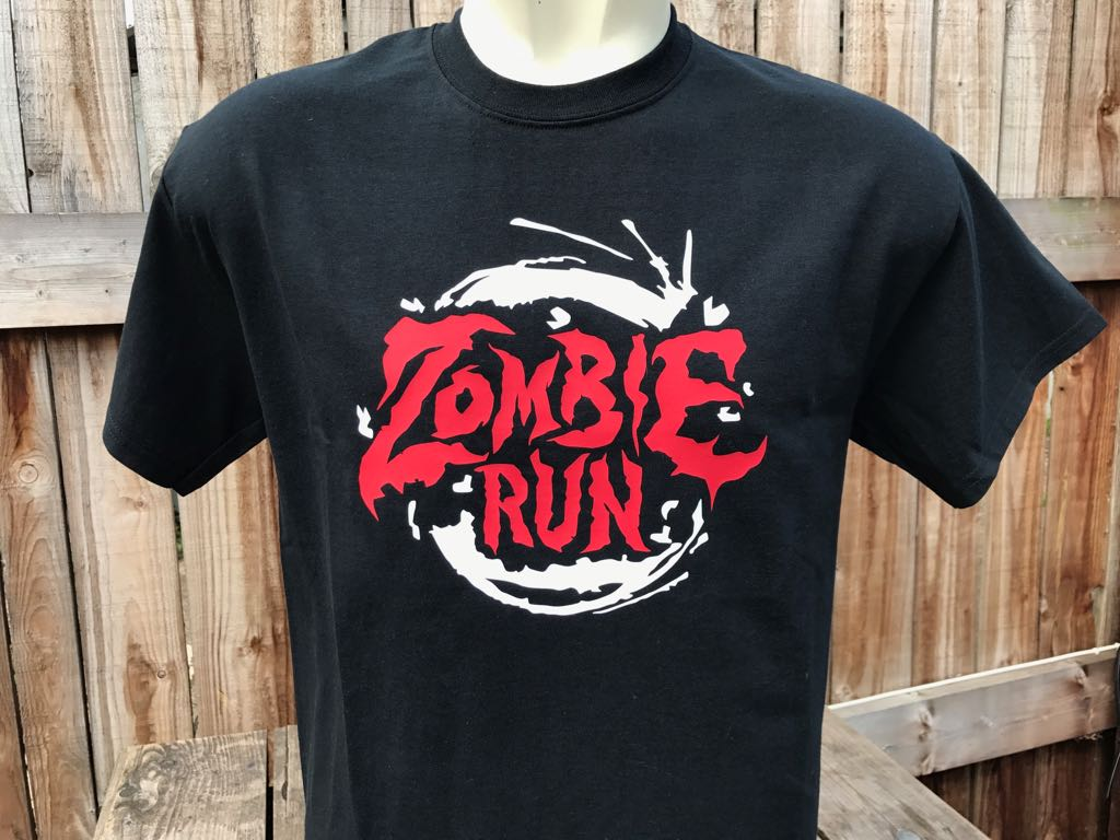 Zombie run the jungle ni zombie run black tee solutioingenieria Image collections