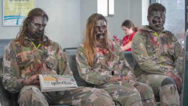 Zombies in Waiting Room