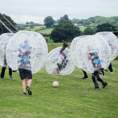 Zorb Football Action