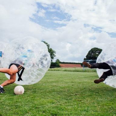 Zorb Football - Impact