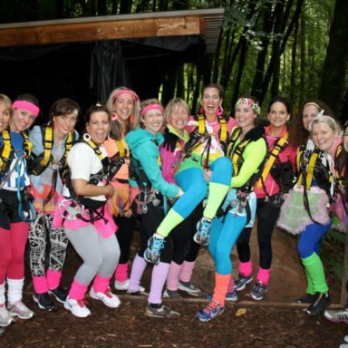 Hen Party... Ready for Action