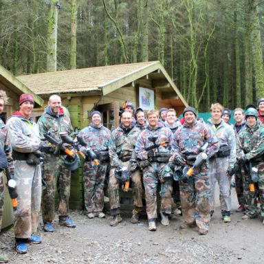 Ulster Rugby Paintball Trip