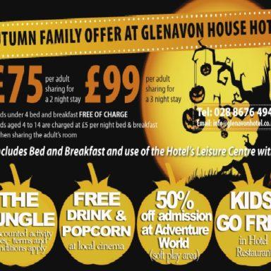 Glenavon Hotel  - Autumn Flyer 2015