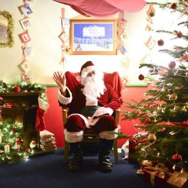 Santa at Christmas Wonderland