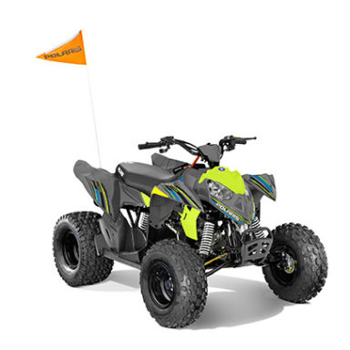Polaris Quad Bike Front