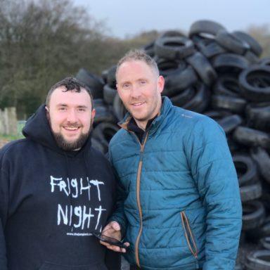 Jamie & Bob at tyres