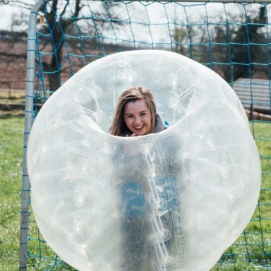 FFD   Body Zorb girl in net