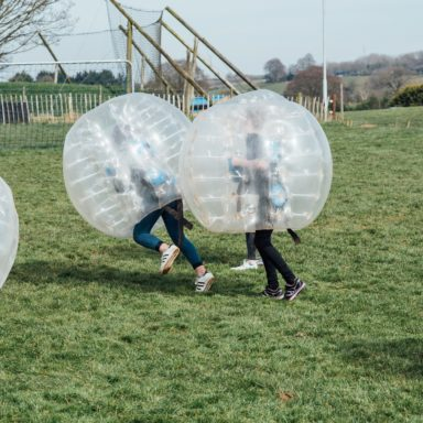 FFD   Body Zorbs in action