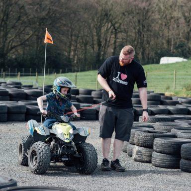 FFD   Quad bike kid with Rob
