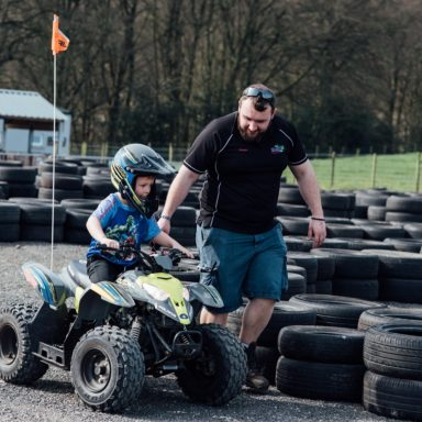 FFD   Quads Jamie with kid