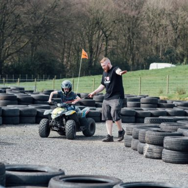 FFD   Rob with kid on quad