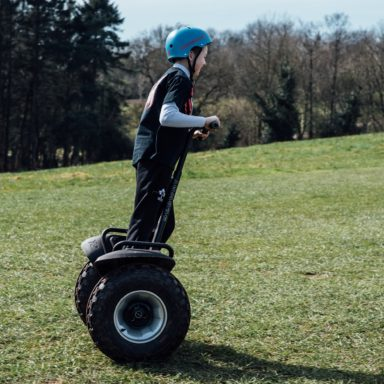 FFD   Segway in action up hill