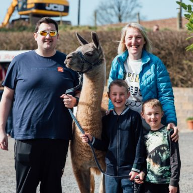 FFD   family with llama