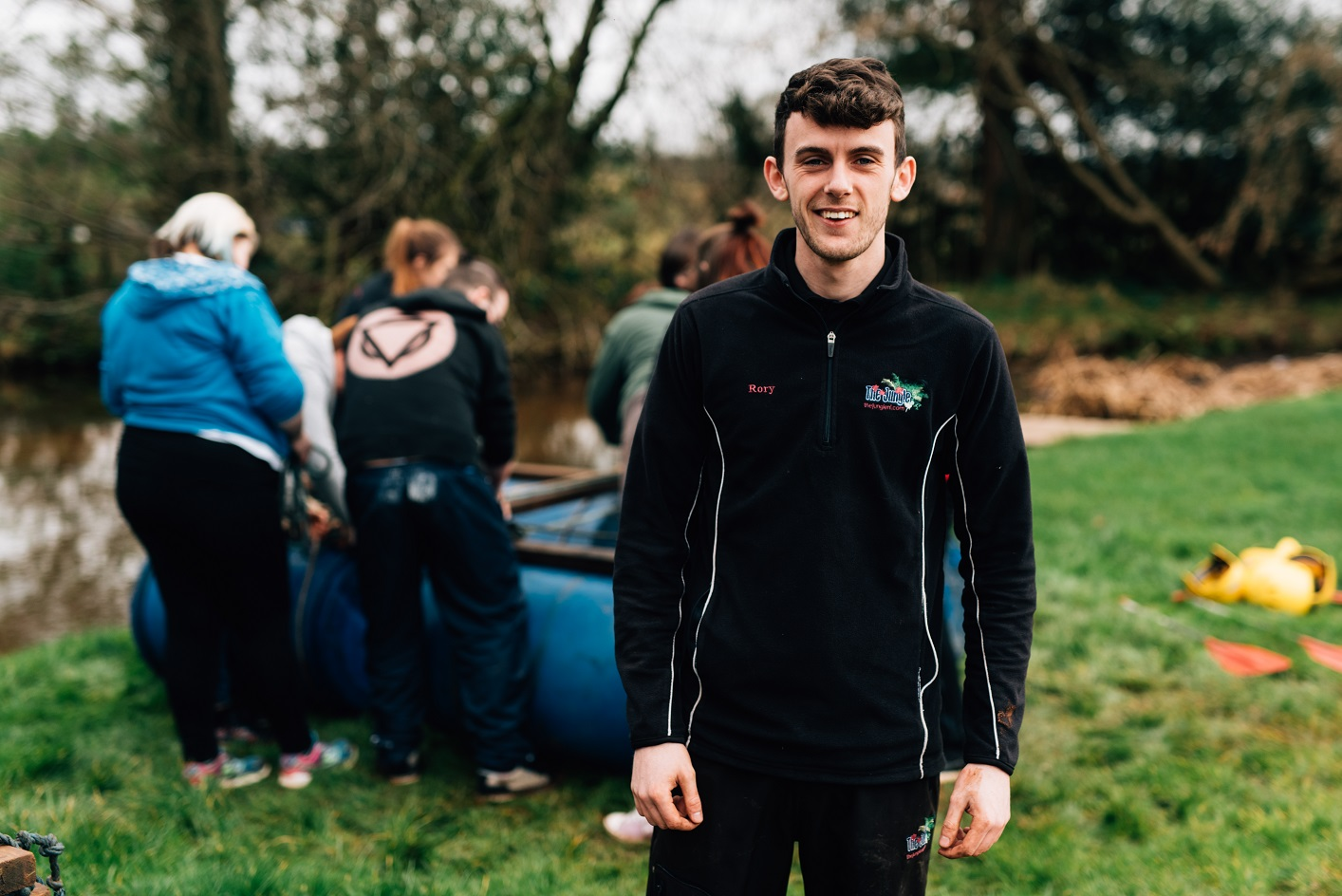 Raft Building   Rory