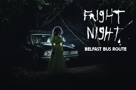 Fright Night Belfast Bus Route FB image