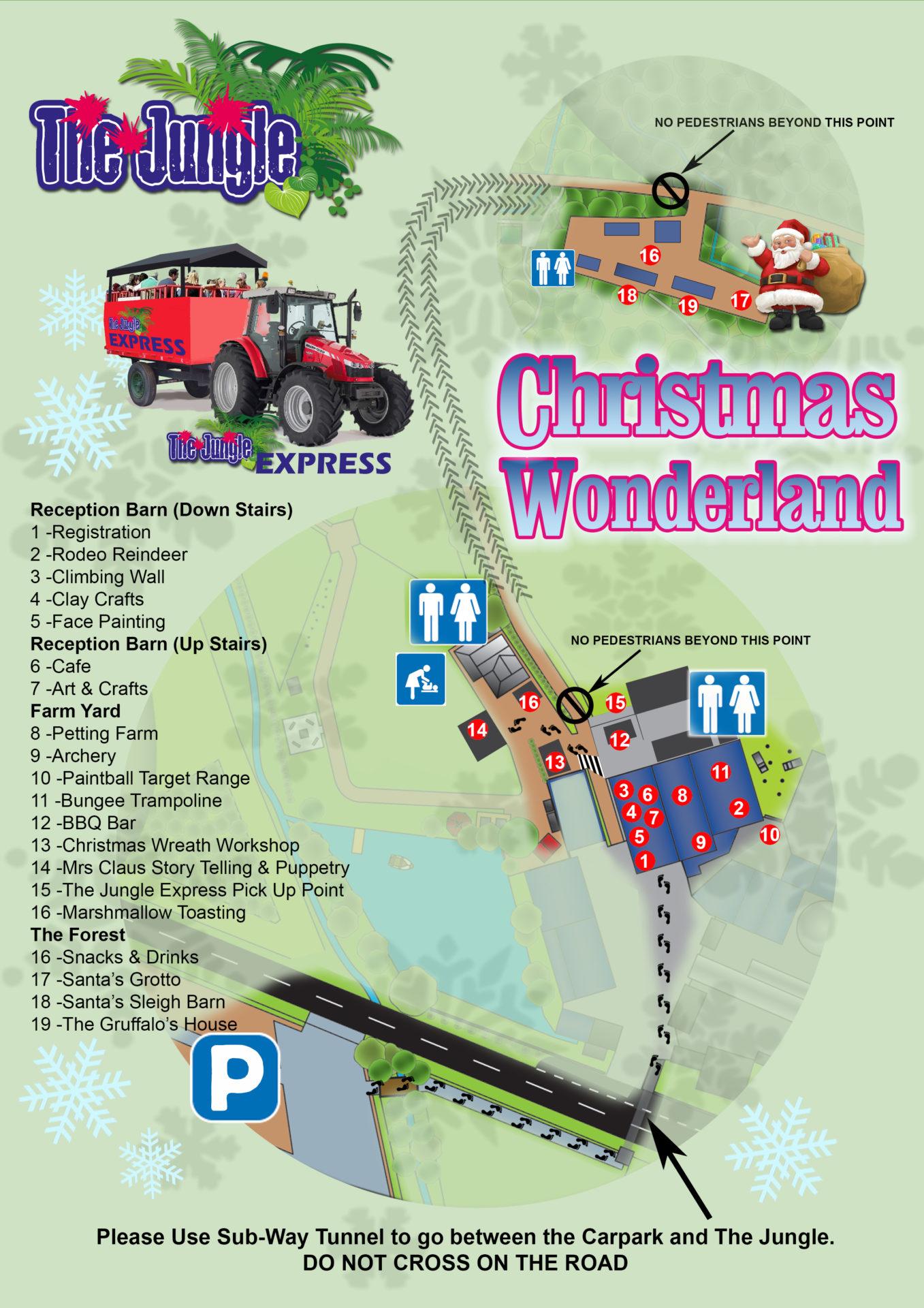 Christmas Map 2017