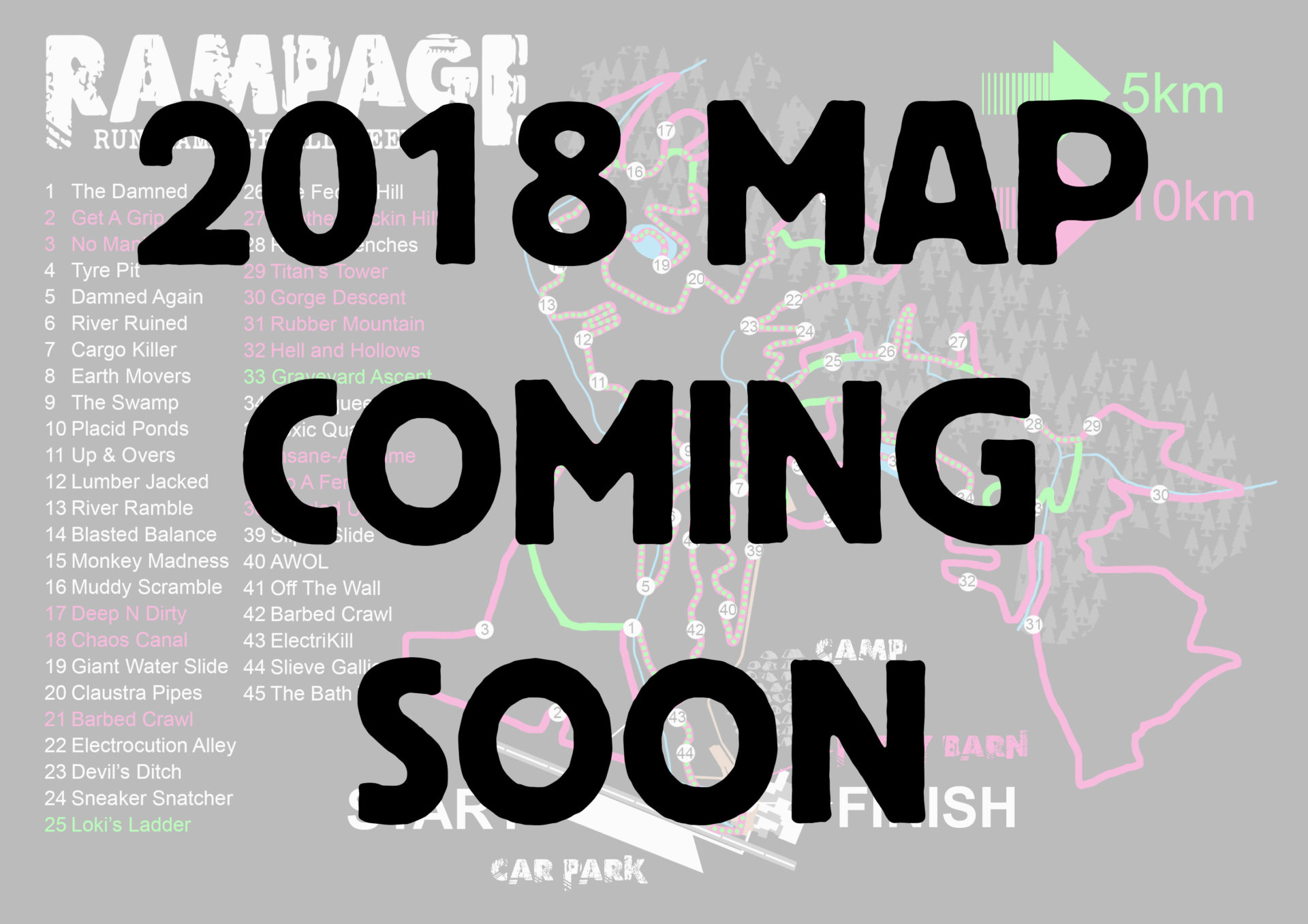 Rampage neon map 2018 coming soon