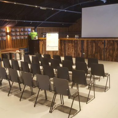 Conference Barn Chair Layout