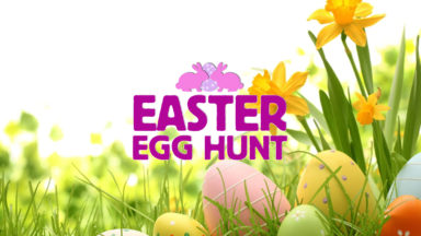 Easter Egg Hunt Event website plain