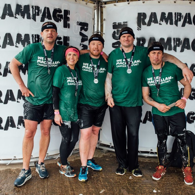 MacMillan Cancer Support runners