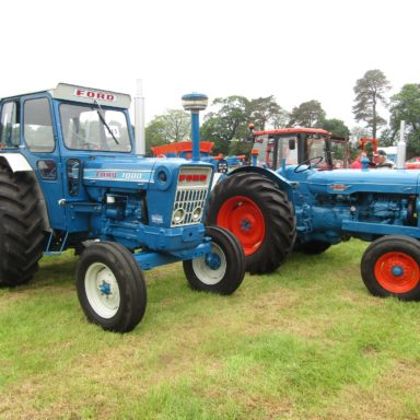 Mid Ulster Vintage rally blue tractors