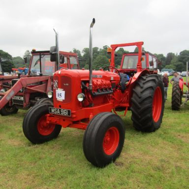 Mid Ulster Vintage rally red tractor 2