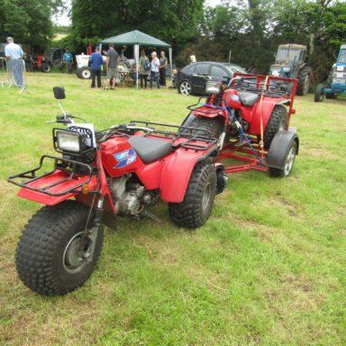 Mid Ulster Vintage rally trike