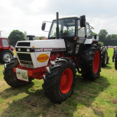 Mid Ulster Vintage rally white tractor