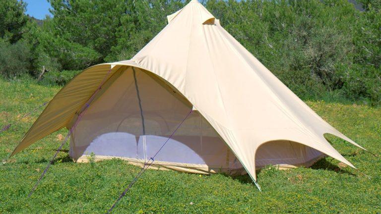 6m sandstone star bell tent p1335 8803 image