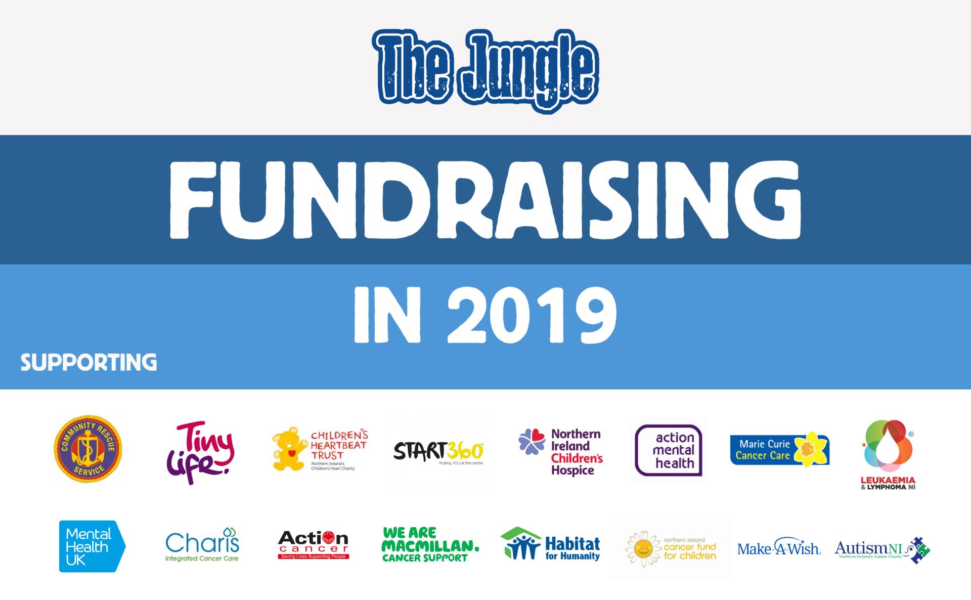 Jungle Fundraising 2019 logo image for FB
